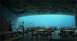 An underwater restaurant is coming out in Europe